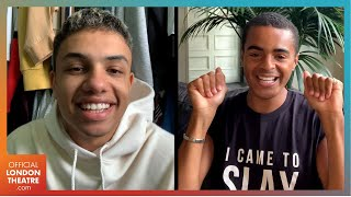 Noah Thomas and Layton Williams chat Everybody's Talking About Jamie | Zoom Interview