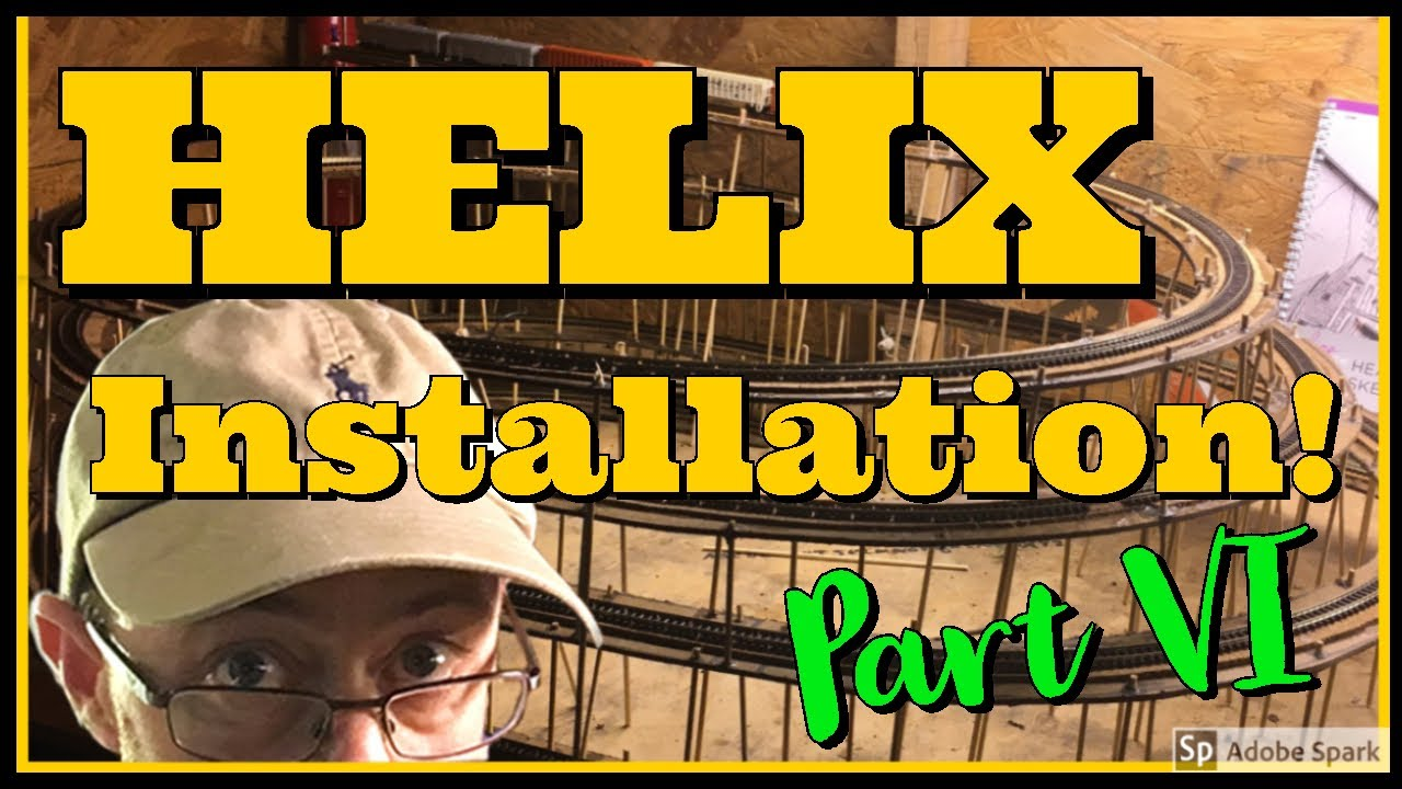 Download Model Railroad Helix Installation - Modular N Scale Trains Series Part 6 - D&RGW Iron Horse Route