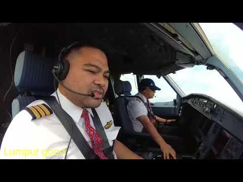 Airbus 330 Cockpit DUAL View Takeoff-Landing Kuala Lumpur To Jeddah (with ATC Subs)