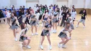 アッパーレーをUNIDOLの皆さんと一緒に踊りました! アプガはライブ!チ...
