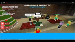 playing on roblox ato rap battle