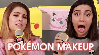 We Tried Pokémon Makeup • Saf & Candace