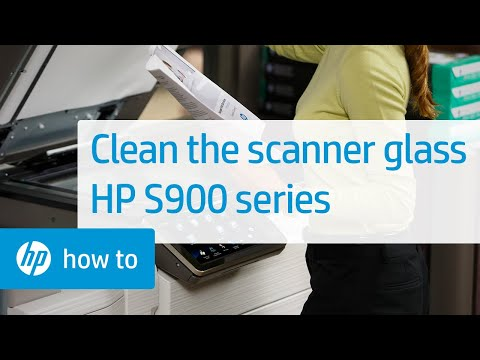Cleaning the Scanner Glass on HP S900 Series Multifunction Printers | HP Printers | HP