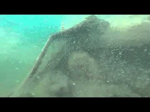 Scuba Diving- New Paris Ohio - Sunken Boat