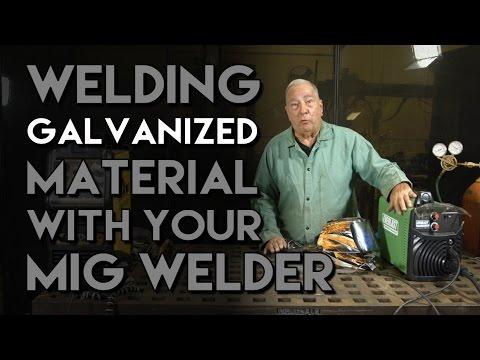 GMAW vs FCAW when Welding Galvanized Material | MIG Monday