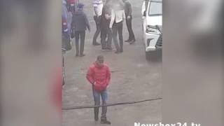 Жестокая массовая драка со стрельбой произошла во дворе дома по улице Давыдова