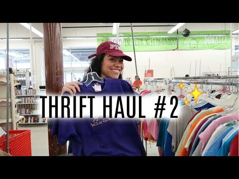 Thrift Haul + Try On | Value Village | Ep #2