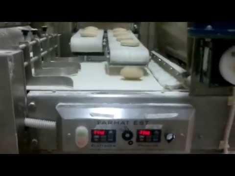FARHAT Compact 2 Rows Lebanese Pita & Arabic Bread Automatic Line & Oven