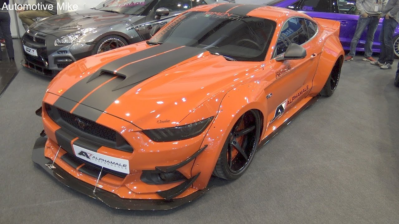 alpha one s550 mustang gt 5 0 widebody essen motorshow 2016 youtube. Black Bedroom Furniture Sets. Home Design Ideas
