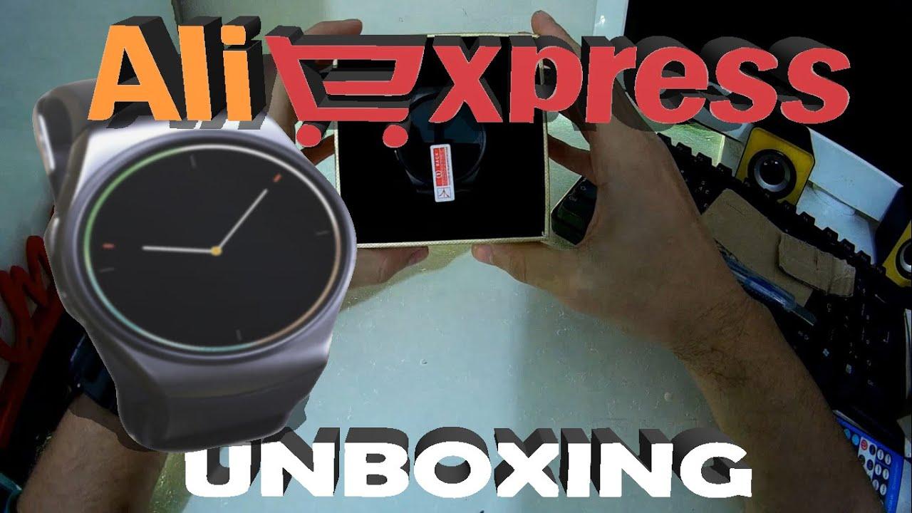 UNBOXING - Compra no ALIEXPRESS (SMARTWATCH KW18)