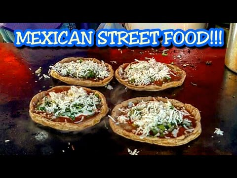 DELICIOUS MEXICAN STREET FOODS RECIPE