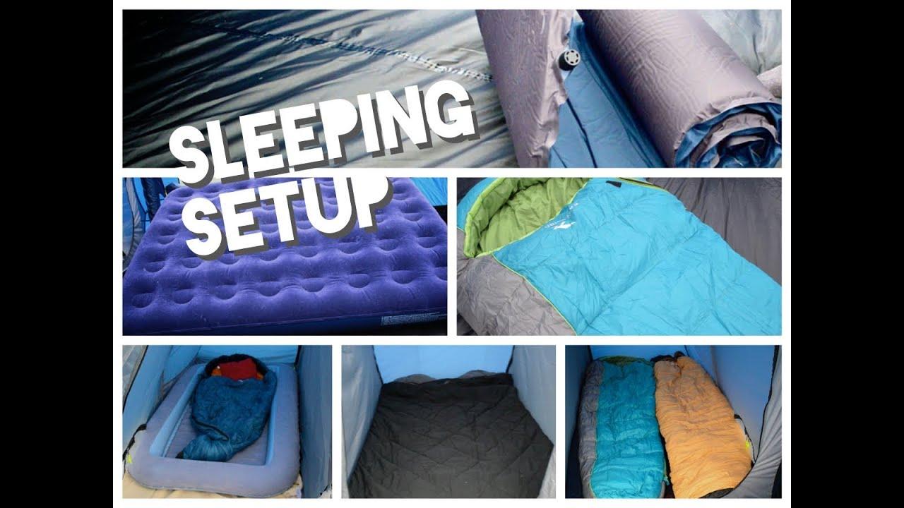 camping tent mattress