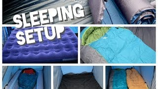 Family Camping Sleeping Tips - For a better nights sleep in your tent