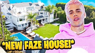 Reacting to Justin Bieber Living in the FaZe House!!