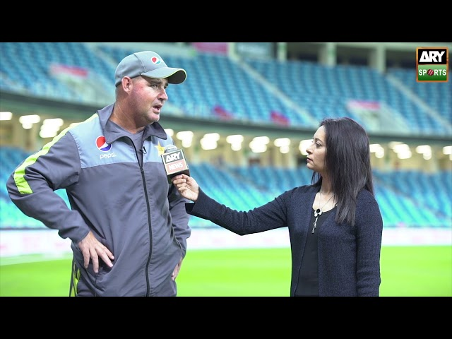 'We have a bowling attack that bowls sides out. I'm happy with where we are' Mickey Arthur