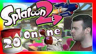 SPLATOON 2 ONLINE Part 20: Im Grätenkanal mit Luna-Blaster, Profi-Kleckser & Greenscreen