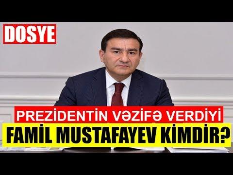 Prezidentin Vəzifəyə Təyin Etdiyi Famil Mustafayev Kimdir? - DOSYE
