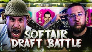 Wer bekommt die SOFTAIR aufs KNIE 😱😢 Best Fut Draft BATTLE !! FIFA 19