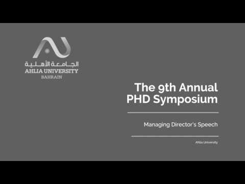 Managing Director's opening speech  |  Day 1