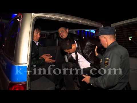 Кавказцы оказали полицейским неповиновение.