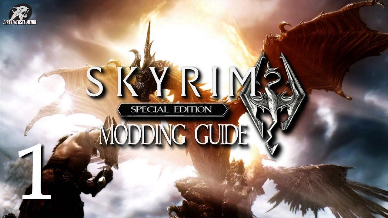 Skyrim Special Edition Modding Guide Ep 1 - Mod Manager Options