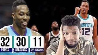 DWIGHT HOWARD HAS HIS BEST GAME.... EVER LOL (30PTS/30 REBS)