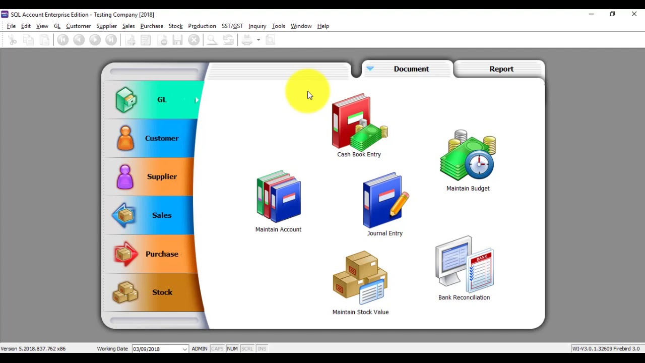 SQL Accounting SystemC SST Upgrade And Important Setting For User