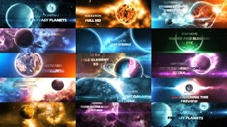 Solar System 2  | After Effects template
