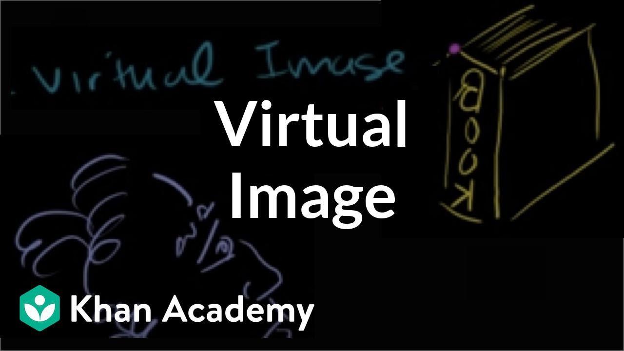 Virtual image (video)   Mirrors   Khan Academy
