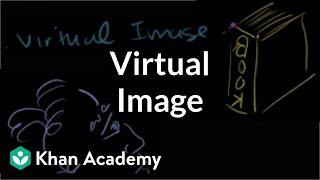 Virtual image | Geometric optics | Physics | Khan Academy