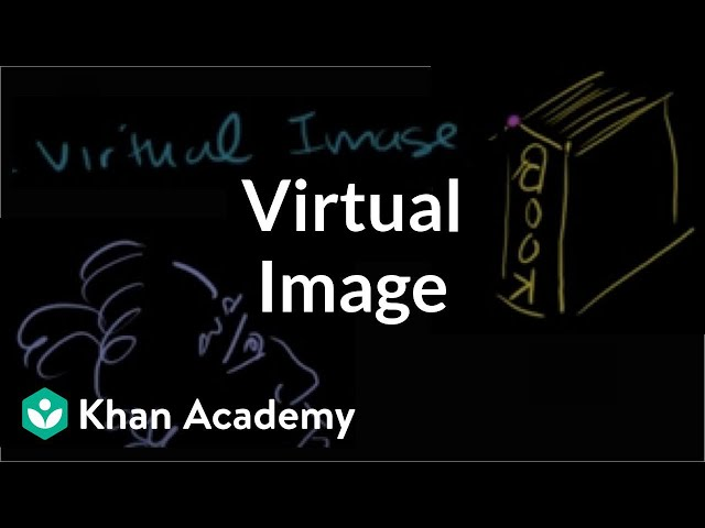 Virtual image | Geometric optics | Physics | Khan Academy