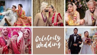 TOP 20 INDIAN CELEBRITY WEDDING DRESSES, PHOTOS & VIDEOS