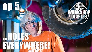 Edd China's Workshop Diaries Episode 5 (1986 Range Rover Part 3 & Electric Ice Cream Van Part 3)