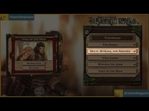 Board Game Tutorial: Learn How to Play Mystic Vale Part 2: Decay, Spoiling, and Abilities |