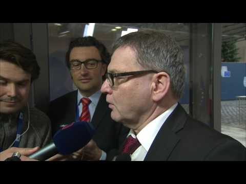 Ministr Zaorálek v rozhovoru s novináři před FAC - 6. 3. 2017