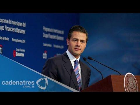 Reforma financiera ya está en acción: Peña Nieto