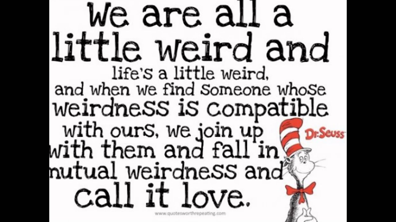 Dr Seuss Quotes About Love Drseuss Quotes  Youtube