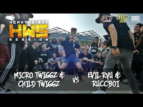 Child Twiggz & Micro Twiggz vs Evil Ryu & Ruccboi    HWS ILLEST 2018