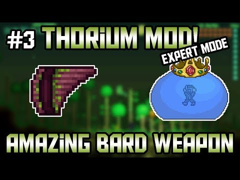 The Panflute! Thorium Mod Expert Mode Bard Let's Play ||Episode 3||
