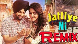 Jordan Sandhu - Jattiye Ni Remix | Ginni Kapoor | JassiX | Arjan Virk| Bunty Bains| New Punjabi Song