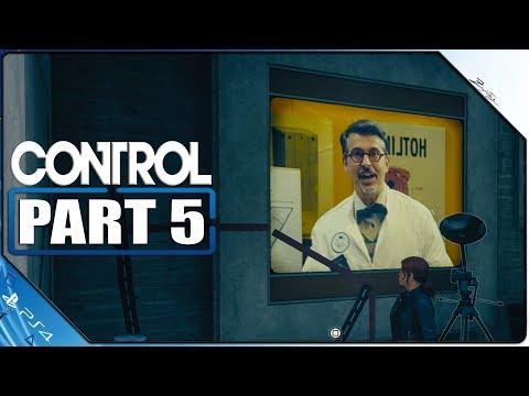 Control PS4 Gameplay German Part 5 German Walkthrough Control Deutsch