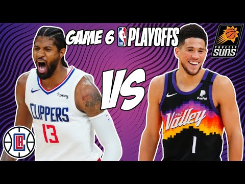 Los Angeles Clippers vs Phoenix Suns Game 6 6/30/21 NBA Playoff Free NBA Pick & Prediction