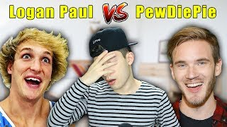LOGAN PAUL ROASTED PEWDIEPIE?! Well, sort of...