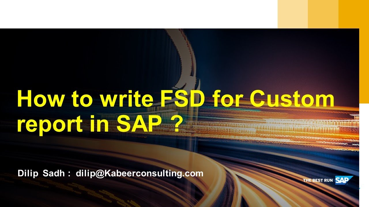 How To Write Functional Specification Document Fsd For Custom