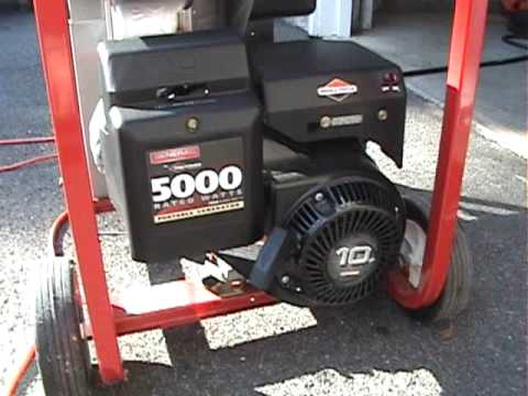 Awesome Sound Of A 10 Hp Ohv Briggs Stratton Engine