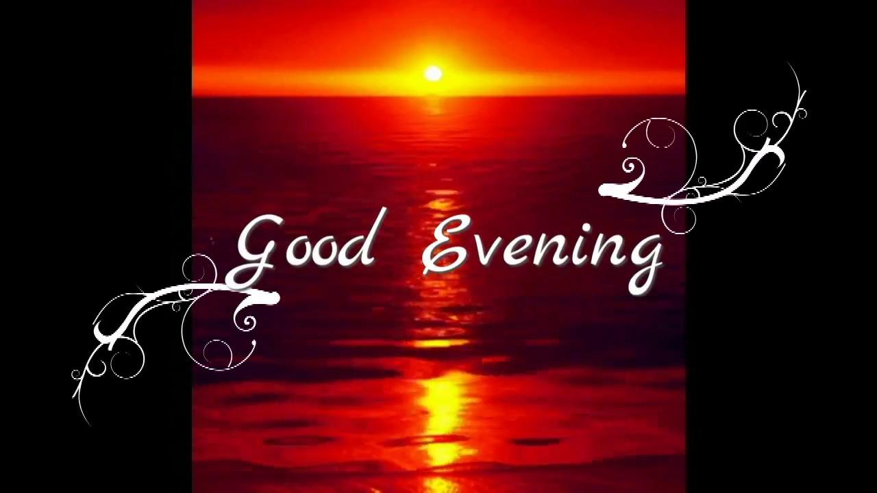 Good Eveningwishesgreetingssmssayingsquotese Cardbeautiful