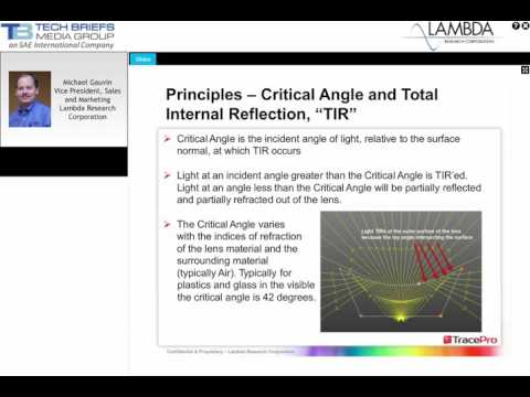 Best Practices for LED Lens Design Presentation PTB