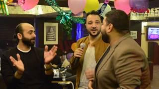 بالفيديو .. زين داود يغني لايف في احتفاله بألبومه الجديد