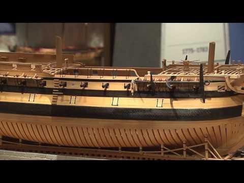 Object 60   Bonhomme Richard Double Sided Model