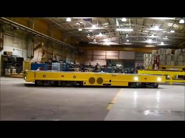 Savant Omni-Directional Heavy AGV Transporter Rotational Steering